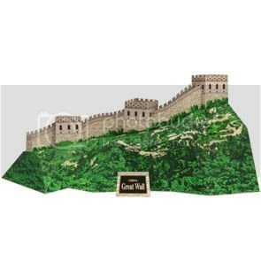 Papermau great wall of china three free different for A grande muralha da china