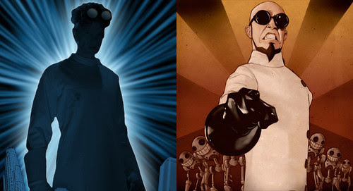 Dr. Horrible and Dr. Steel