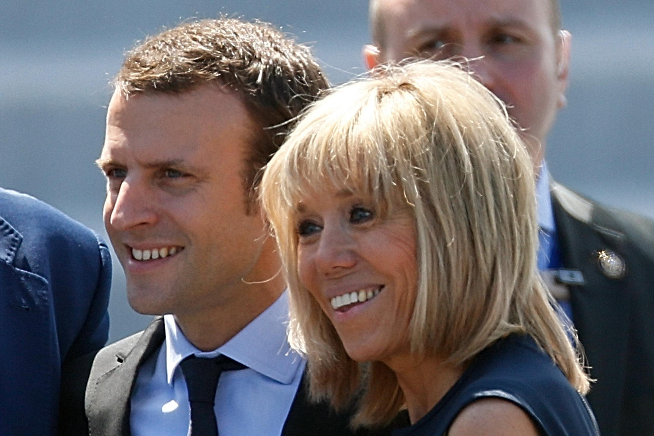 Emmanuel macron wife 2021 : Who Is Brigitte Macron? French Politician's Wife Used To ...