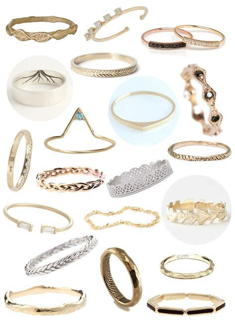 30 Non Traditional Wedding Rings Under $500