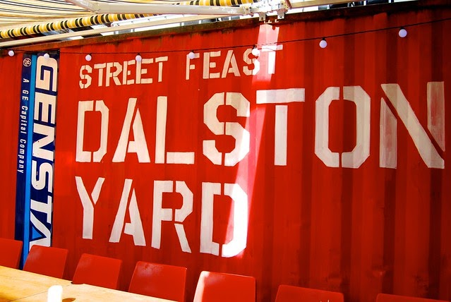 Rachel Phipps: Street Feast #dalstonyard: BOB Lobster, Bleeker St. Burger, Breddos Tacos ...