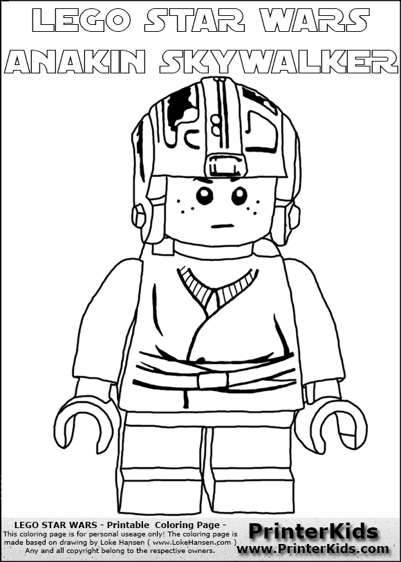Star Wars Anakin Coloring Pages At Getdrawingscom Free For