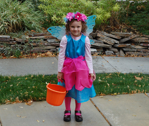 A 4-year-old fairy