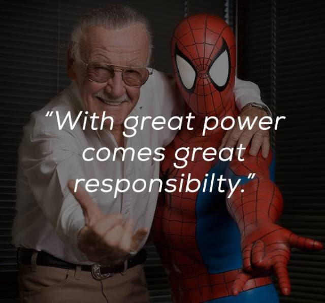 20 Awesome Stan Lee Quotes That Prove He Was The Best Feels