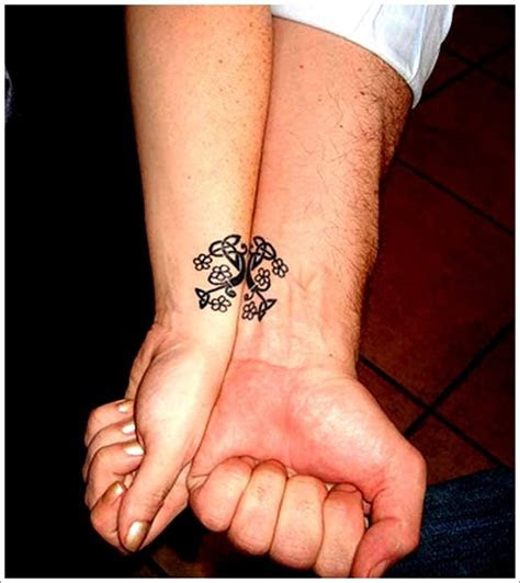 complimentary tattoo designs couples
