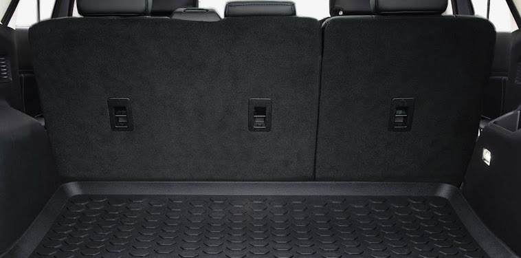 Ford Edge Suv Trunk Space
