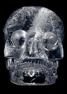"( A look into the future) A crystal skull belonging to ""Rabbi""  Yaakov Mandel  the sadist"