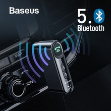 Car Aux Bluetooth 5.0 Adapter Wireless Audio Receiver Handsfree Car Kit