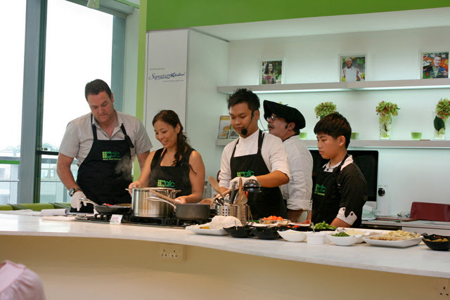 Very interactive and hands-on cooking class