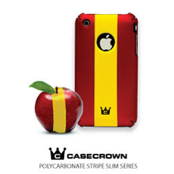 CaseCrown Polycarbonate Stripe Slim iPhone Cases