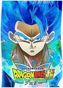Dragon Ball Super Broly Poster Gogeta