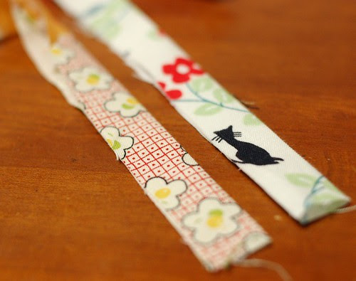 How to make a patchwork string 8