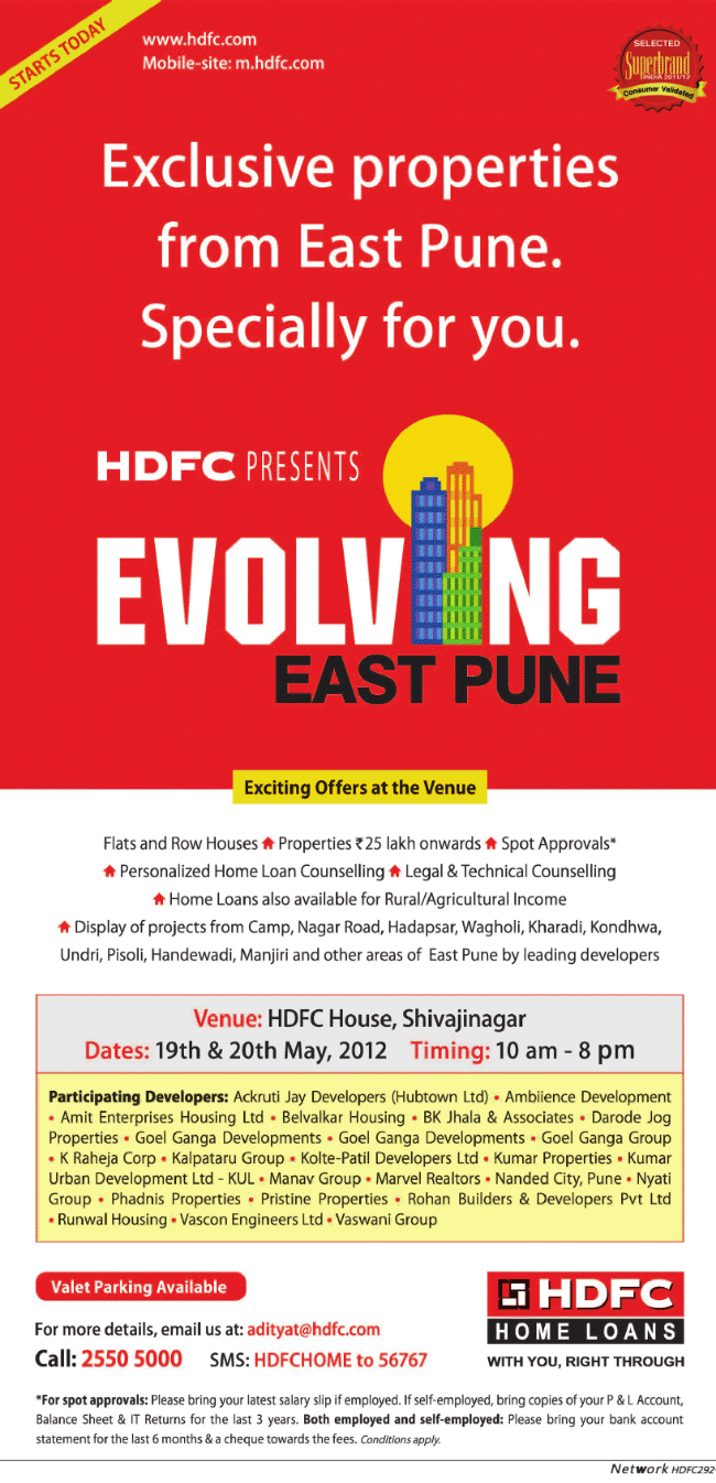 HDFC East Pune Property Exhibition