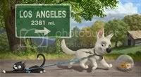 Bolt in his journey through America.