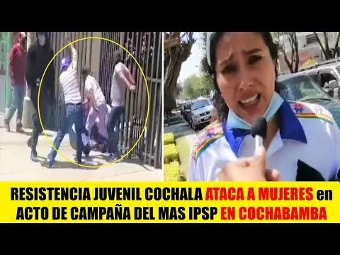 Bolivia | Motoqueros de la RJC atacan a Mujeres durante acto de campaña ...