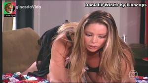 Danielle Winits sensual na novela Paginas da Vida