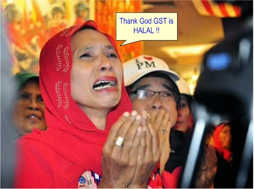 Thank God GST is Halal