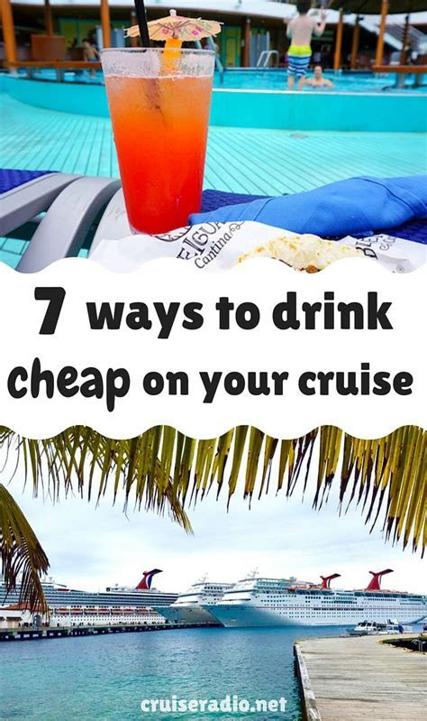 7 Ways to Drink Cheap on your Cruise   Oh the places you