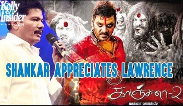 Director Shankar praises Lawrence's Kanchana 2