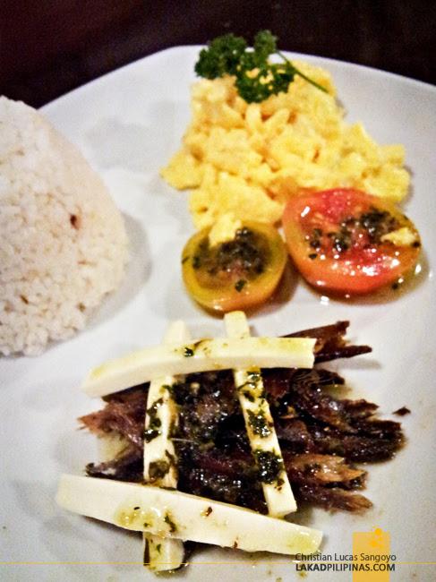 Kanto Freestyle Breakfast Libis Tuyo and Kesong Puti
