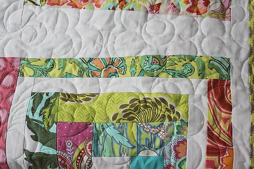 Close of of the Quilting/MLC Quilt