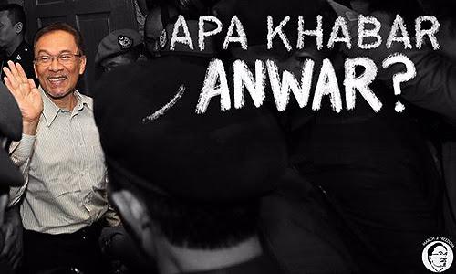'Apa Khabar Anwar' kempen terbaharu PKR selamat Ketua Umum KEADILAN