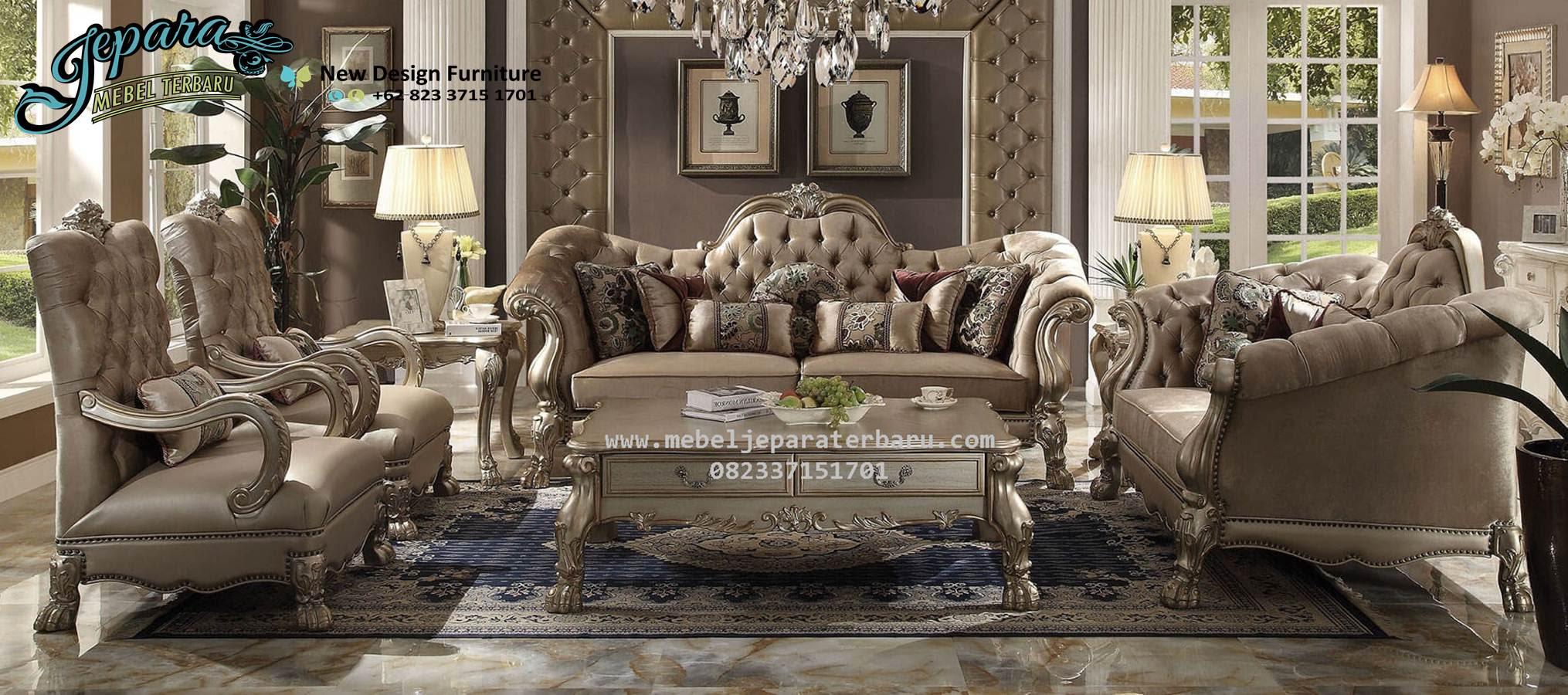 Sofa Kursi Tamu Mebel Jepara Terbaru Acme SST 078 Sofa Ruang