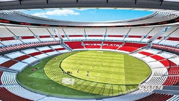 Así se vería el nuevo estadio de River tras las modificaciones financiadas por Emirates.