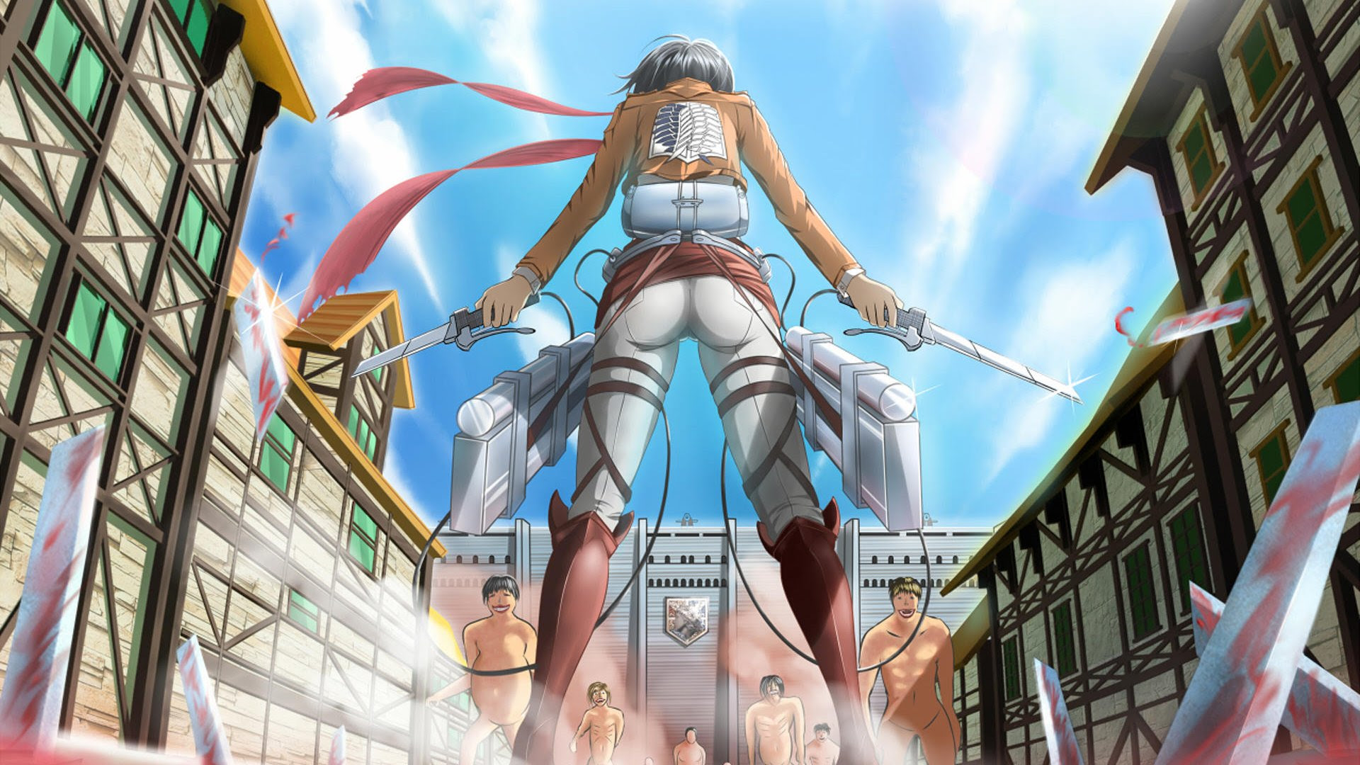 Mikasa Attack On Titan 壁紙 35693295 ファンポップ