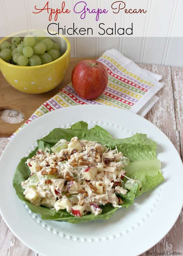 Apple Grape Pecan Chicken Salad Recipe 2