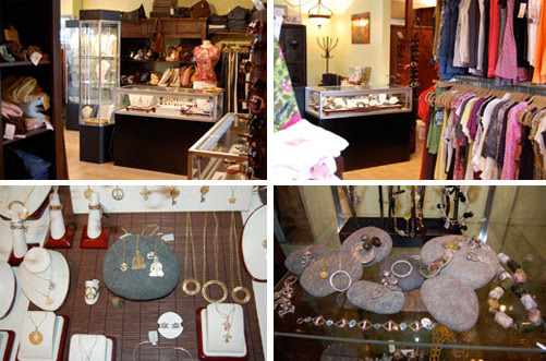 inside Shop Annmarie D'Ecrole in Del Mar