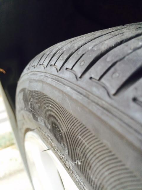 2013 Hyundai Elantra Bubbles On Tire Side Wall 14 Complaints