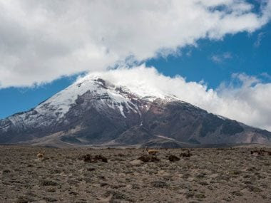 4. Closest place to Outer Space: Mount Chimborazo, Ecuador