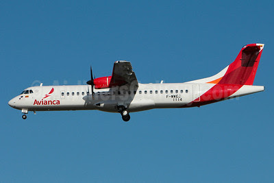 Avianca (Colombia) ATR 72-212A (ATR 72-600) F-WWEC (HK-4955) (msn 1114) TLS (Olivier Gregoire). Image: 920877.