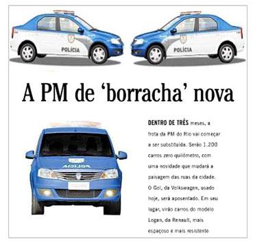 Reprodução da coluna de Ancelmo Gois, do Globo