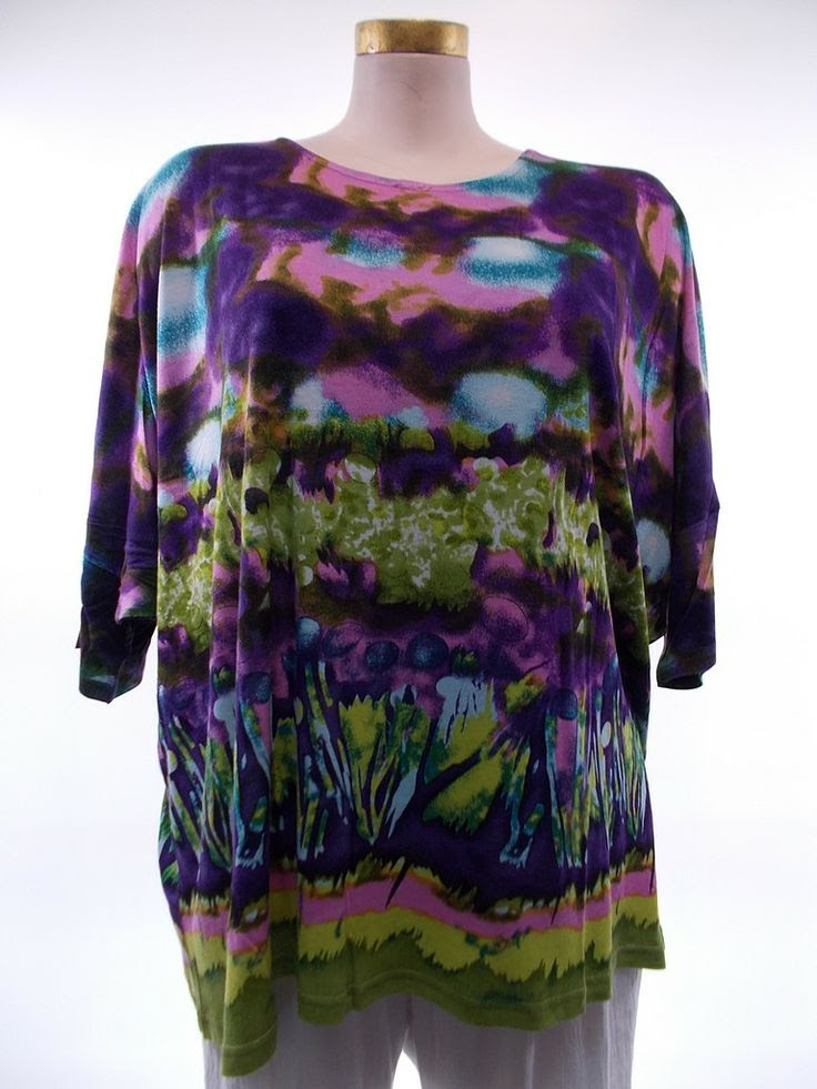 Parsley and Sage - Multi-color Mola Kaftaan Top