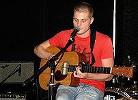 Jay Brannan performs at Mercury Lounge