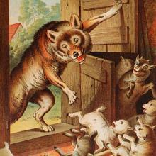 Contes Pour Enfants Le Loup Et Les Sept Chevreaux à Lire Fr
