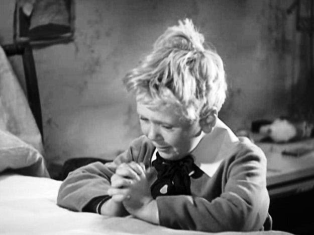 Jackie Cooper was eight when he starred in the 1931 film Skippy. When Jackie couldn't summon tears for a scene, director Norman Taurog removed Jackie's pet dog from the set and pretended to have it shot. This caused Jackie to cry hysterically and deliver a performance that earned him an Oscar nomination.