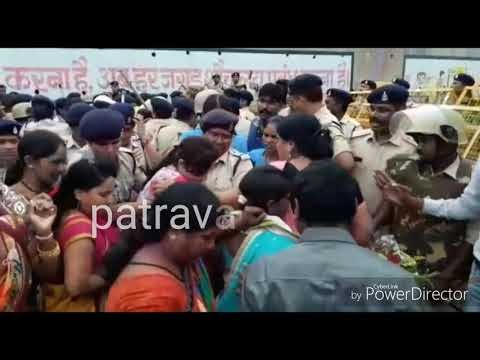 VIDEO PATRAVARTA:-कलेक्टोरेट का घेराव करने जा रही ऋचा जोगी कार्यकर्ताओं समेत गिरफ्तार...देखिये पूरा मामला