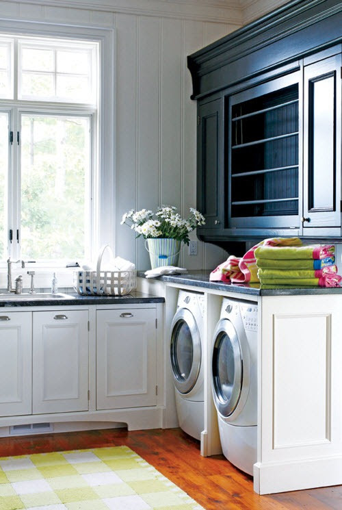 Beautiful Efficient Laundry Rooms | Simplified BeeSimplified Bee