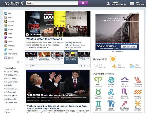 Inikah Penampilan Baru Situs Yahoo?