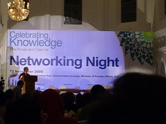 Celebrating Knowledge Conference - Networking Night