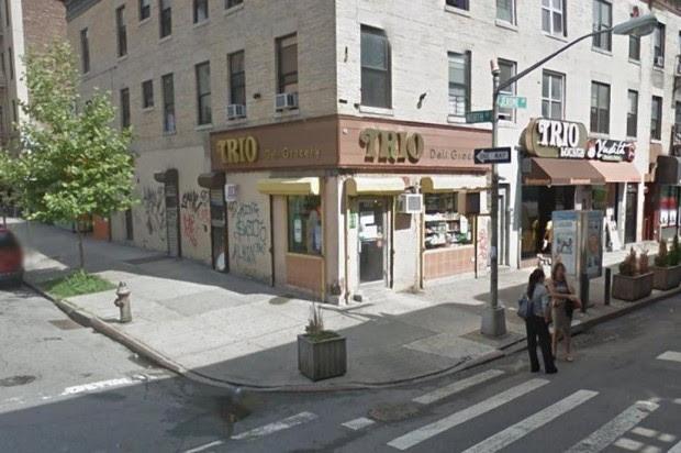 Local comercial Trio Deli, ubicado en la calle North, esquina Gerome del sector de University Heights en El Bronx, donde fue ultimado el dominicano.