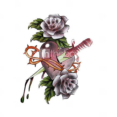 Broken Heart Waterproof Tattoo Tattoomagz