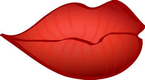 Clipart   Red lips
