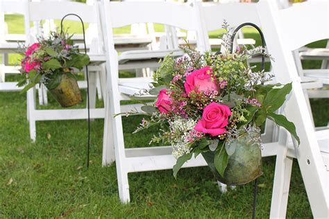 Wedding Ceremony Flower Arrangements   Branford Flowers in