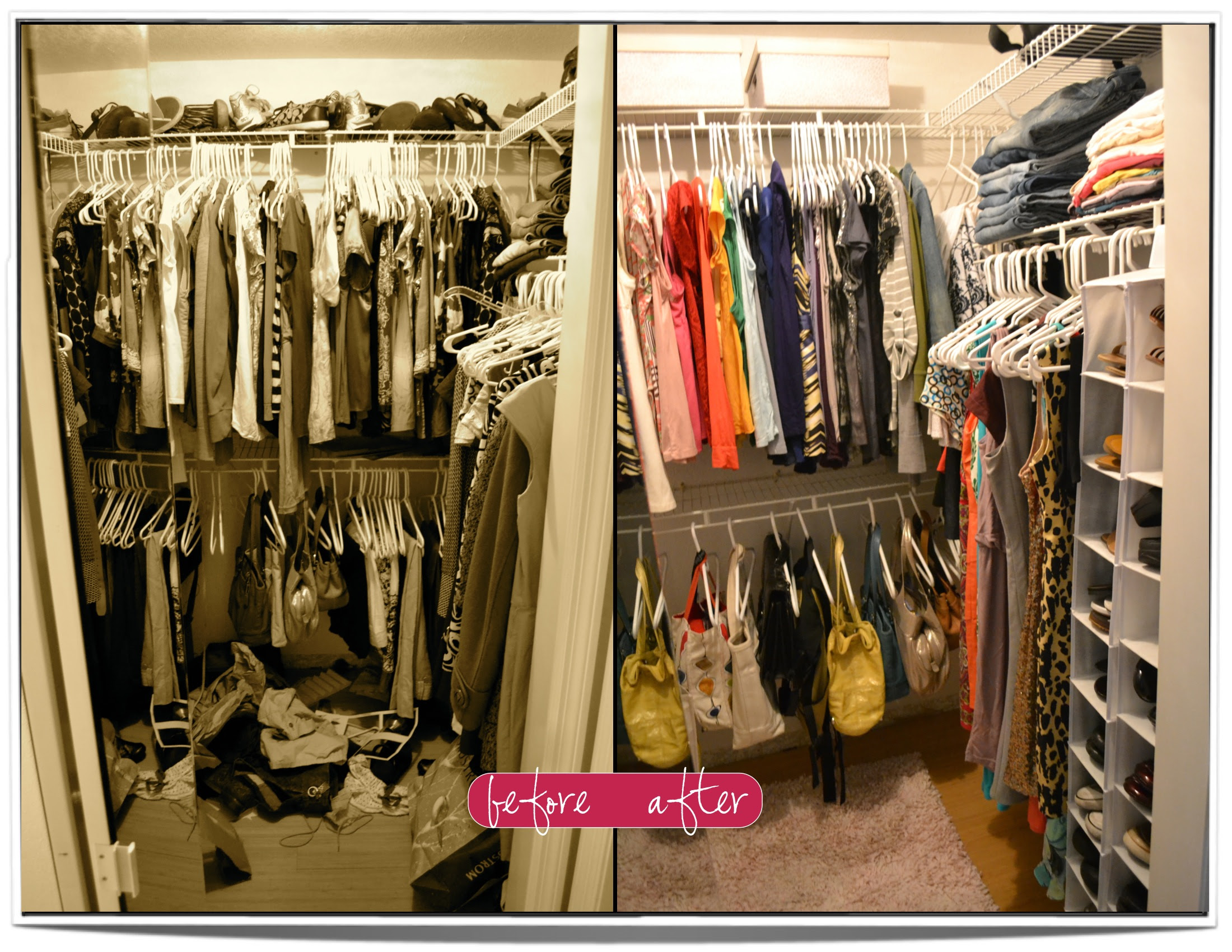 Organize My Closetconfession