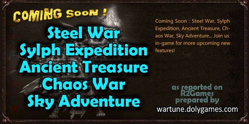 Wartune Patch 4.0 Part 2 Coming Soon