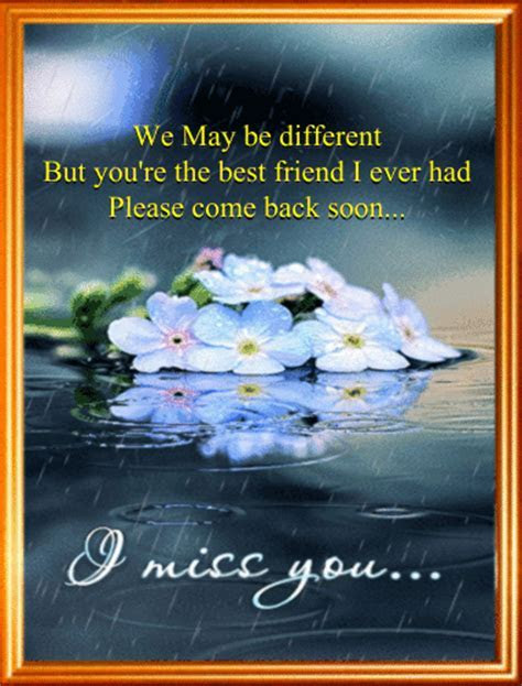 Miss You Friend. Free Miss You eCards, Greeting Cards